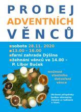 Prodej adventních věnců